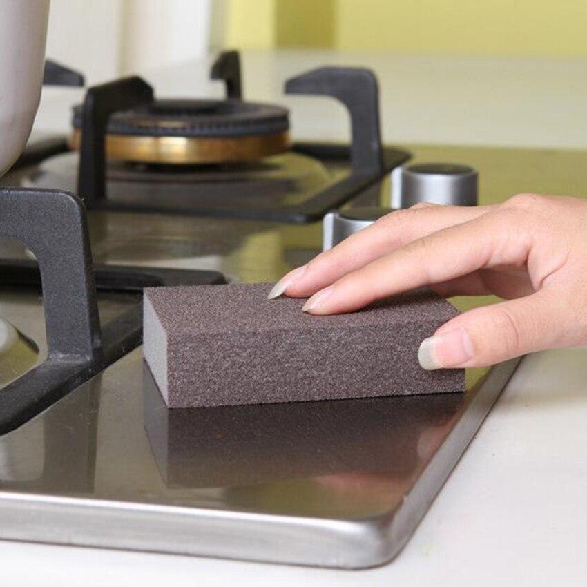 Cocina Nano Emery Magic Clean Pot Rub Óxido Focal kit de Eliminación de Manchas
