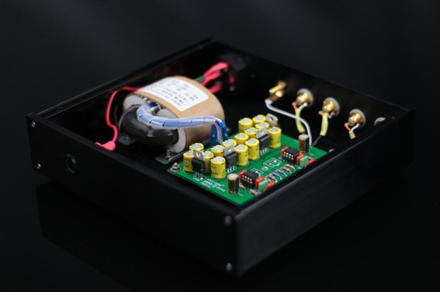ZEROZONE DIY KIT MMCF10 LP phonograph MM amplifier RIAA Phono preamp kit L4 14