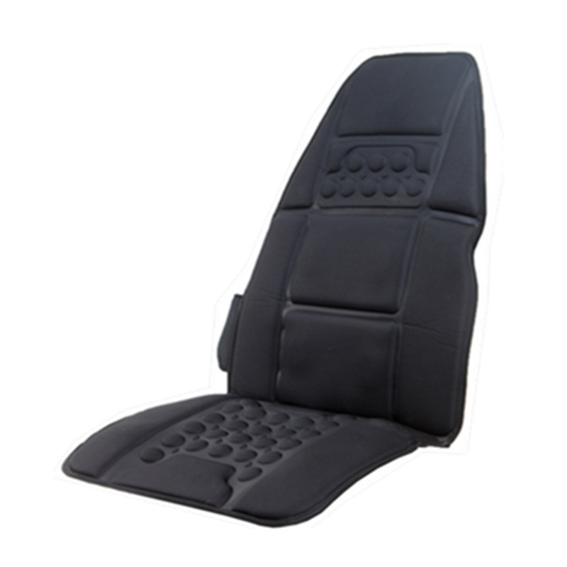 Vibrating Massager Vehicle Seat Heating Mat Full Body Cervical Neck Back Acupressure Massage Cushion Car Tool Health Care vehicle car accessories auto car seat cover back protector for children kick mat mud clean bk