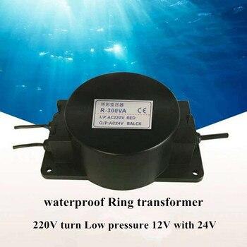 Swimming Pool Underwater Light Transformer AC Waterproof Power Supply Transformer 220V Turn AC12V 24V Safety Voltage 300W 400W 220v 2 27a transformer 220v input isolation transformer 500va power supply transformer