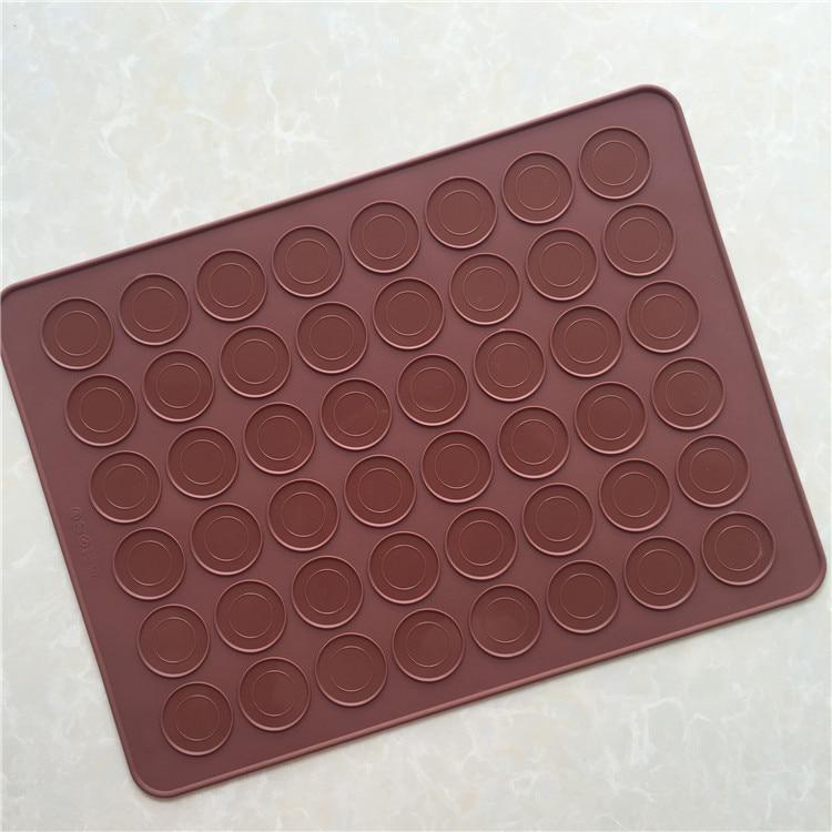 bake bear large size 48 round macaron silicone baking mat use for oven baking sheet matss1032 on. Black Bedroom Furniture Sets. Home Design Ideas