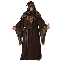 Halloween Party Shaman Priest Religious Clothing European Religious Men God Father Missionary Gothic Wizard Cosplay Costumes