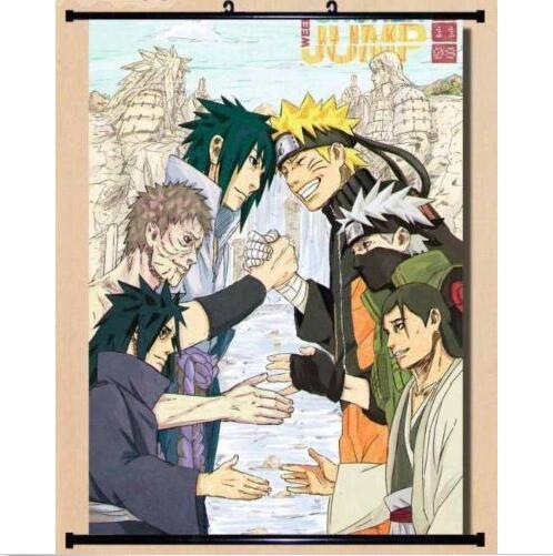 Naruto Uzumaki Naruto Fabric Anime Home Decor Poster Wall Scroll 60*90cm