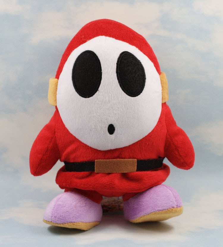 17cm Shy Guy Super Mario Bros Plush font b Toys b font Soft Stuffed Keychain Plush