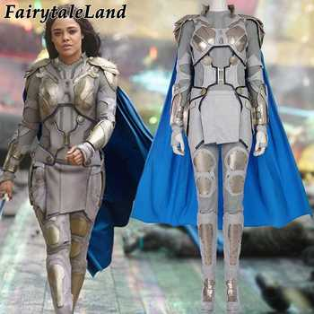 Valkyrie Cosplay Costume Adult Superhero Cosplay Thor Ragnarok Suit Carnival Halloween costumes Valkyrie Silver costume - DISCOUNT ITEM  15% OFF All Category