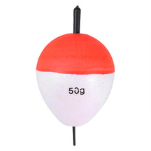 10pcs 2g~60g High Quality Fishing Float Bobbers Ball Buoys Sea Fish Float Set with Stick Saltwater Pesca Tackle Accessory Kit