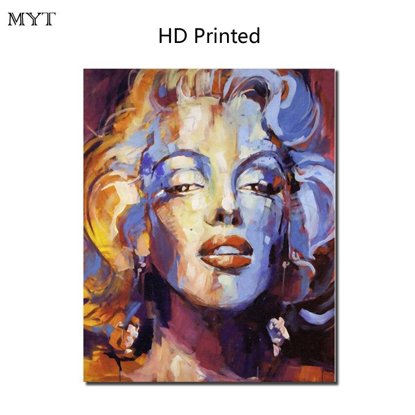 Горячие продажи HD картины напечатаны на холсте стены картину звезда Мэрилин Монро для гостиной Home Decor нет оформлена или сделай сам оформлен...