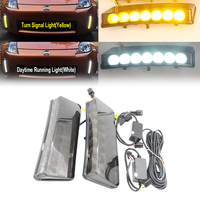 Led Turn Signal Light Daylight Smoked Lens DRL for Nissan 350Z 03 05 Direct Replacement DRL Daytime Running Lamp