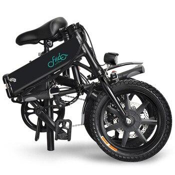 FIIDO D1 Мини Алюминиевый сплав Умный складной электрический велосипед мопед велосипед вилка европейского стандарта