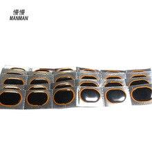 48Pcs/box 32*24mm Bicycle Bike Repair Fix Kit Flat Rubber Tire Tyre Repair Patch Kit Cycling Tools