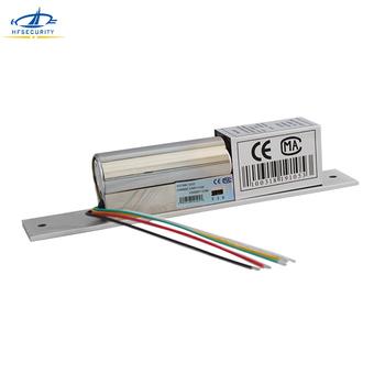 HFSECURITY pięć drutu opóźnienia opinie elektryczny zamek wpuszczany elektroniczny rygiel LED drzwi magnetyczne blokady EM zamki tanie i dobre opinie HF-200E +20 degrees Celsius DC12V input 350mA 0-90 1500kg