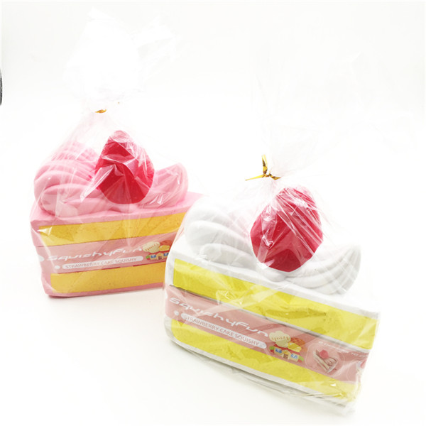 Fun Strawberry Cake Super Slow Rising Original Packaging Fun Gift Collection For Kids Adult Relieve Streee