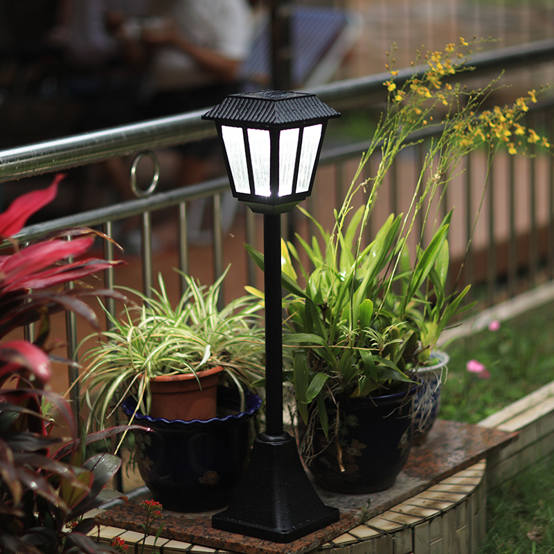 Hight 80CM Led Solaire Light Outdoor Decor Lighting Solar Lamp Glass Outdoor Lantern LED Solar Garden Light With Tungsten Bulb ...