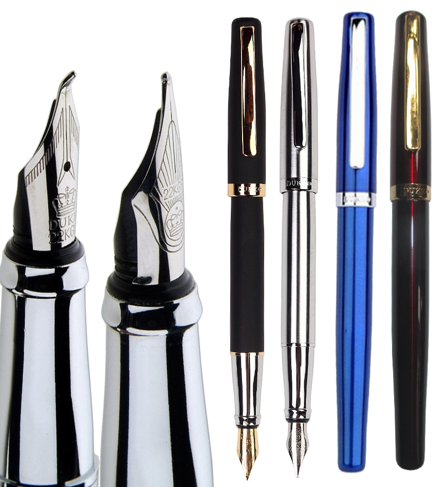 Calligraphy Curved Nib Fountain pen  DUKE 209  office and school writing pens Free Shipping art palace 966 picasso 0 38mm nib fountain pen commercial calligraphy fountain pen lettering smooth writing pens