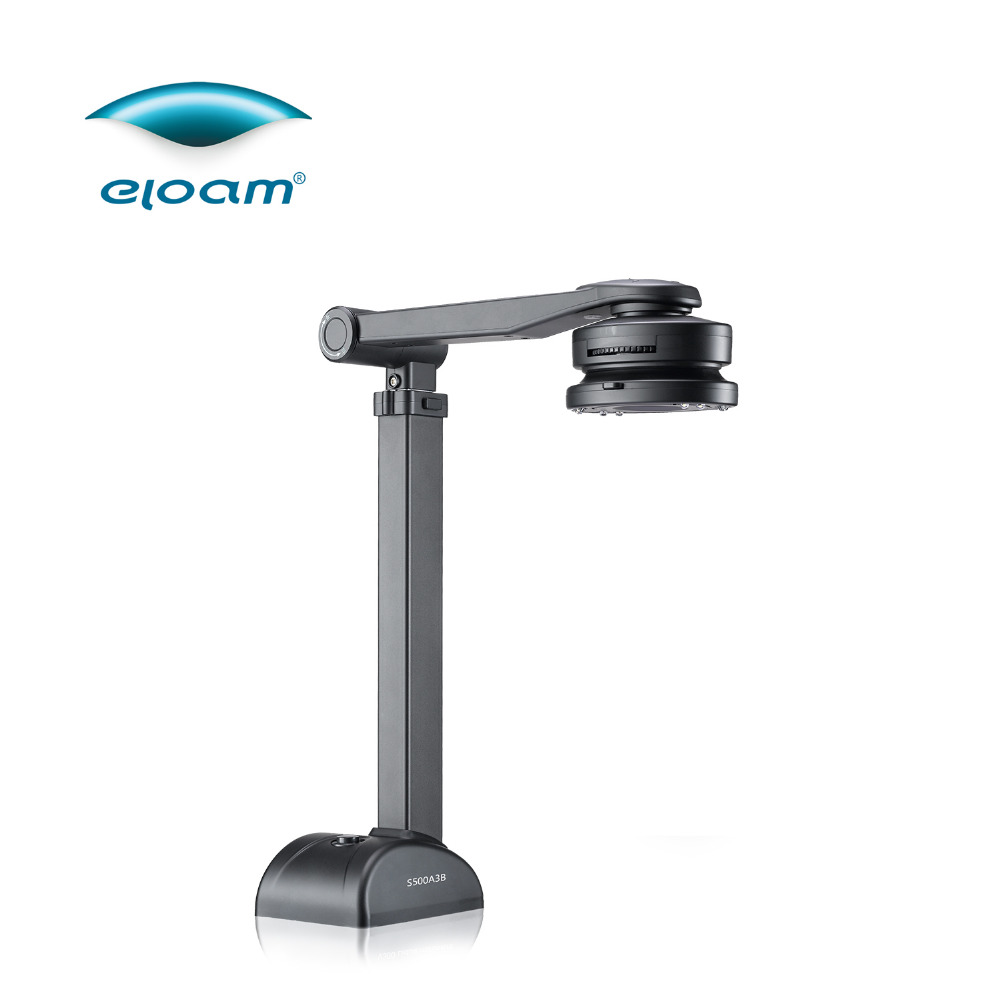 5 million pixel Fast and Easy Document Camera/OCR Scanner for documents, cards, books,3D objects & High Definition Visualizer document scanner 8 0 mega pixel a4 large format 24 bit usb 2 0 360 degree wide angle lens led ocr timing shoot fast copy