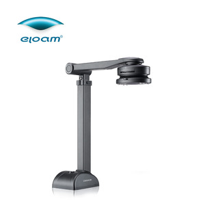 5 million pixel Fast and Easy Document Camera/OCR Scanner for documents, cards, books,3D objects & High Definition Visualizer