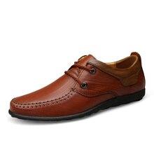 big size US size 11 business dress leather shoes mans cow leather men shoes zapatos hombre solid mens shoes genuine leather