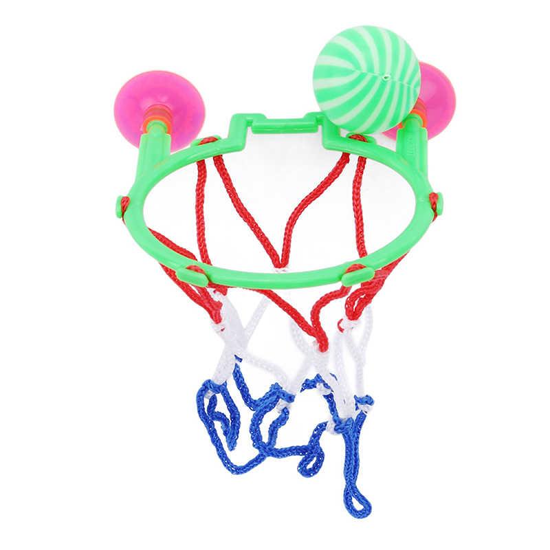 1PC Developmental Basketbal Machine Kids Volwassenen Draagbare Zuignap Mini Speelgoed Basketbal Hoepel Cadeau Voor Kinderen Speelgoed