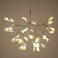 SETTEMBRE современный подвесной светильник светодиодный светильник Heracleum кулон в форме листика дерева лампы для гостиной лампы железного домаш
