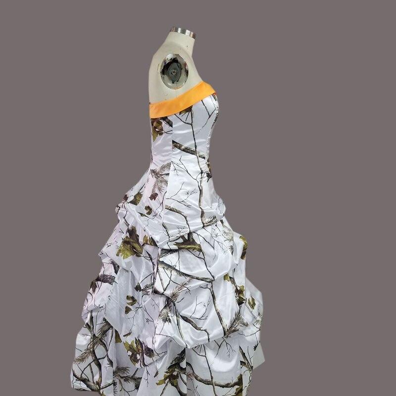 Camo realtree camuflaje nieve blanca vestidos de novia 2017 vestido ...