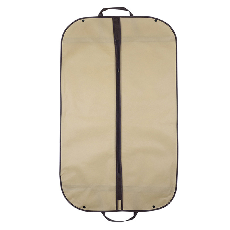 Image 2 - 2019 Suit Dust Cover Bag Portable Travel Business Folding Hanging Garment Bag for Home Household Clothes Protector Case AC025-in Clothing Covers from Home & Garden