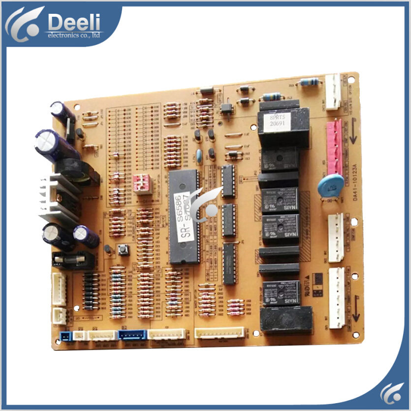 Original good working for Samsung refrigerator Computer board DA41-10123A R-PR0JECT 95% new original good working refrigerator pc board motherboard for samsung rs21j board da41 00185v da41 00388d series on sale