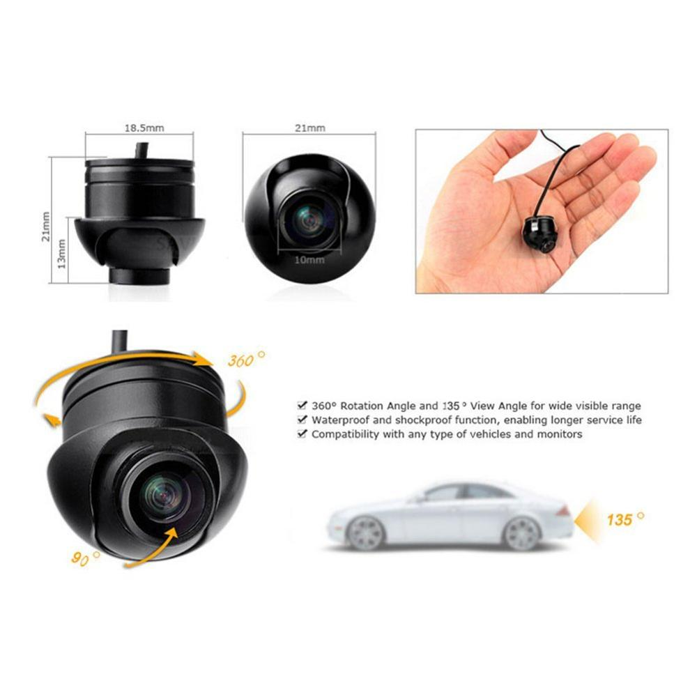 2018 Parking Waterproof CCD Universal HD Car Rear view BackUp Reverse Night vision Auto Camera For Audi/Ford/Toyota and all car Lahore