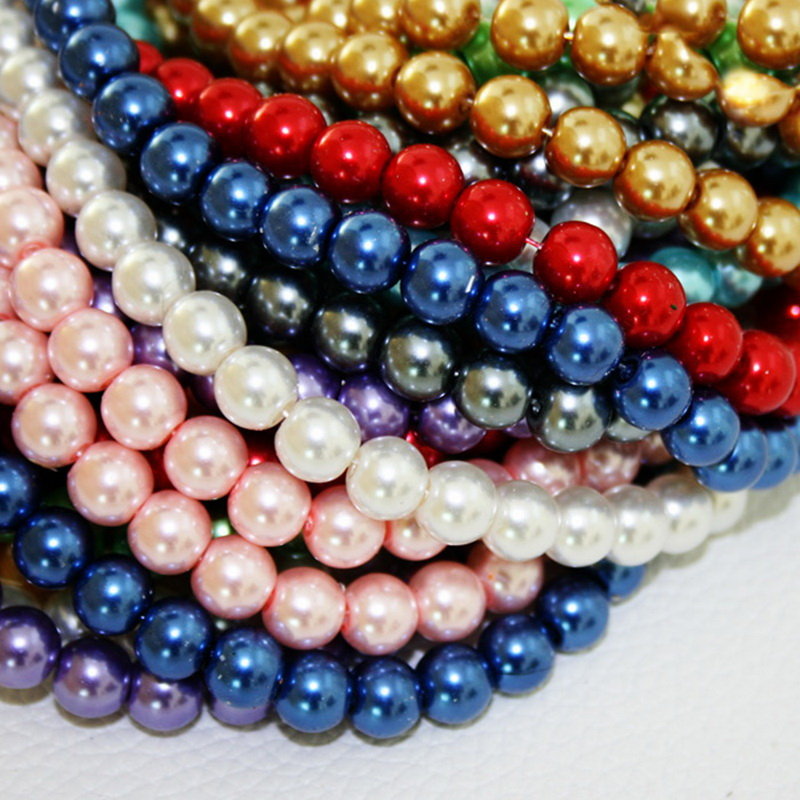 50g Mixed 3,4,5,6mm Caviar Pearl Beads No Hole Rainbow Mermaid Scales Bubbles