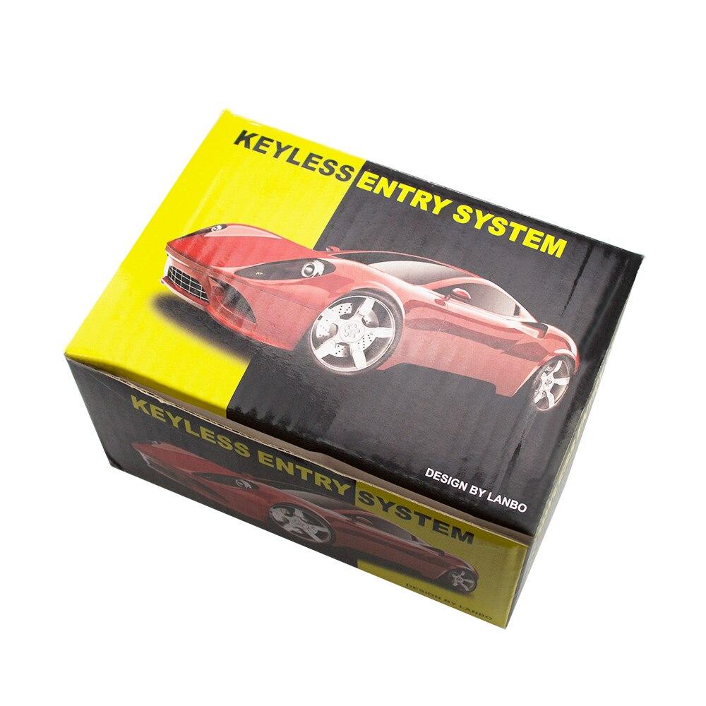 Eunavi Auto Alarm Systems Car Remote Central Kit Remote Central Door Lock Keyless System Central Locking Intelligent Control 4