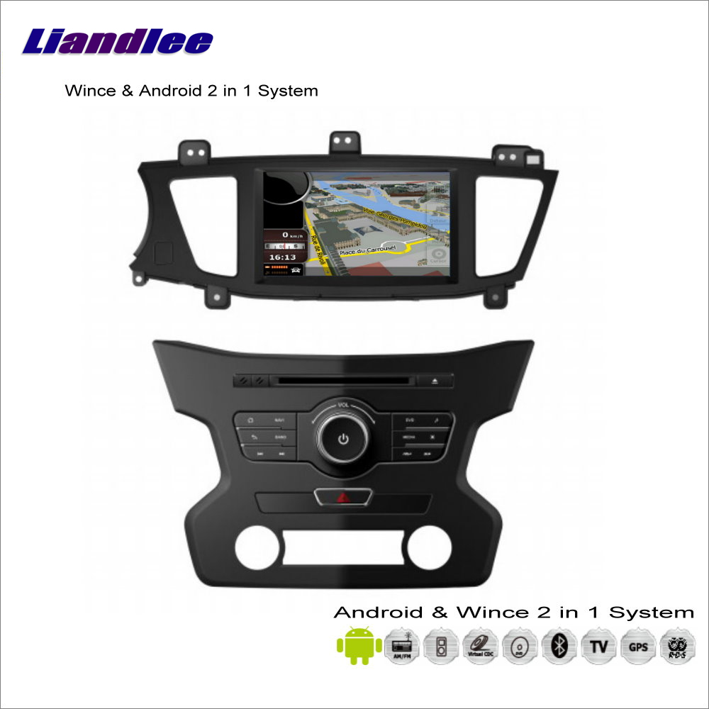 Liandlee Car Android Multimedia Stereo For KIA 7 / Cadenza 2013~2014 Radio CD DVD Player GPS Navigation Audio Video S160 System