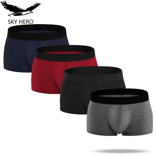 4pcs/pack Mens Underwear Boxers Men Boxer Underpants Homme Slip Calzoncillos Cotton Male Panties Boxershorts Hombre Man Cuecas