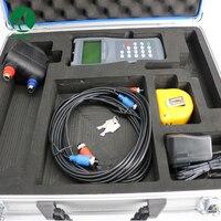 Цифровой ручной воды ультразвуковой расходомер TDS 100H с датчиком M2 Utrasonic расходомер на основе усовершенствованного дизайна цепи