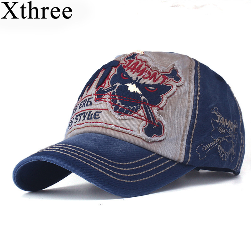 xthree cotton fasion Leisure baseball cap Hat for men Snapback hat casquette women's cap wholesale fashion Accessories brushed cotton twill ivy hat flat cap by decky brown