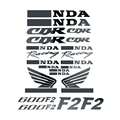 Brand New Motorcycle Decal Fuel Tank Sticker Full Decals Stickers Set Kit Logo For CBR600 F2 600F2