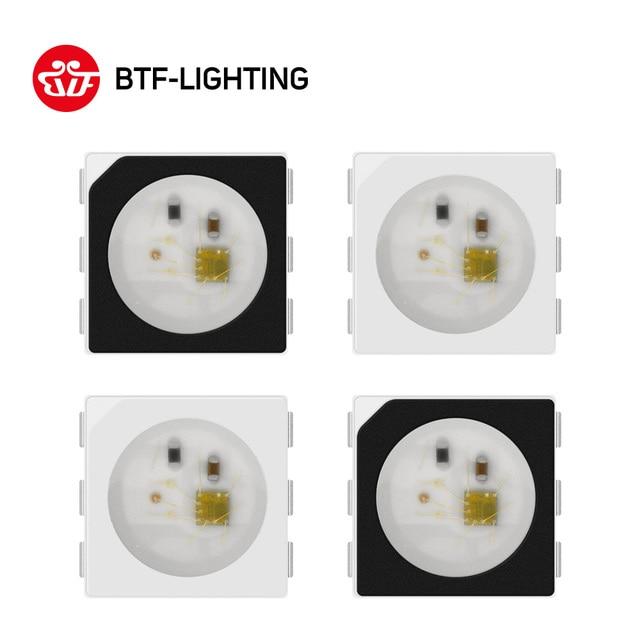 WS2813 (6 pins) dual-signal 5050 SMD Schwarz/Weiß version WS2813 Individuell Adressierbare Digitale RGB LED Chip 5 v 10 ~ 1000 stücke