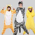 Spring Autumn Cartoon Animal Pajamas for Unisex Adult Lovely Couple Sleepwear Pikachu Totoro Nightwear Cosplay Onesie Costume