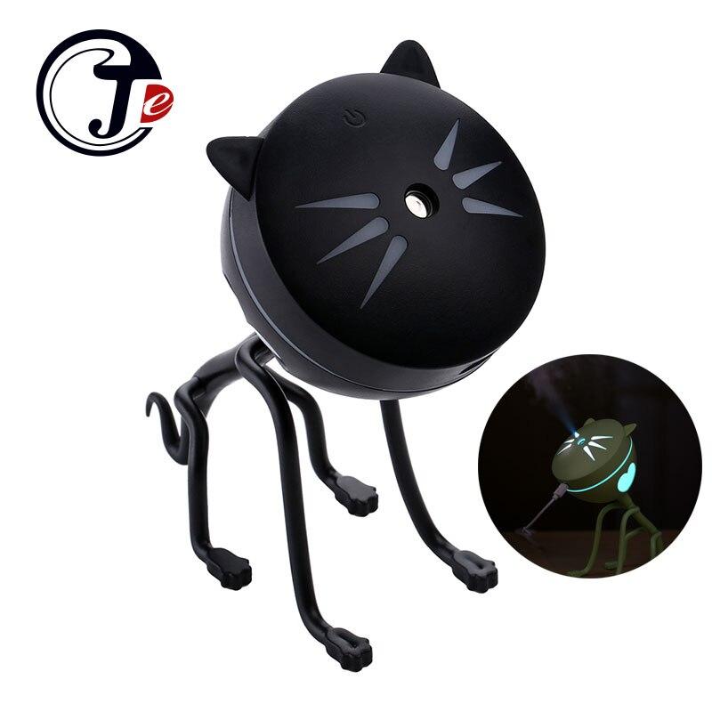 150ML Cat Ultrasonic Humidifier Aromatherapy Diffusers USB Car Air Freshener Home Mini Air Water Air Purifier Led Bulb Diffuser