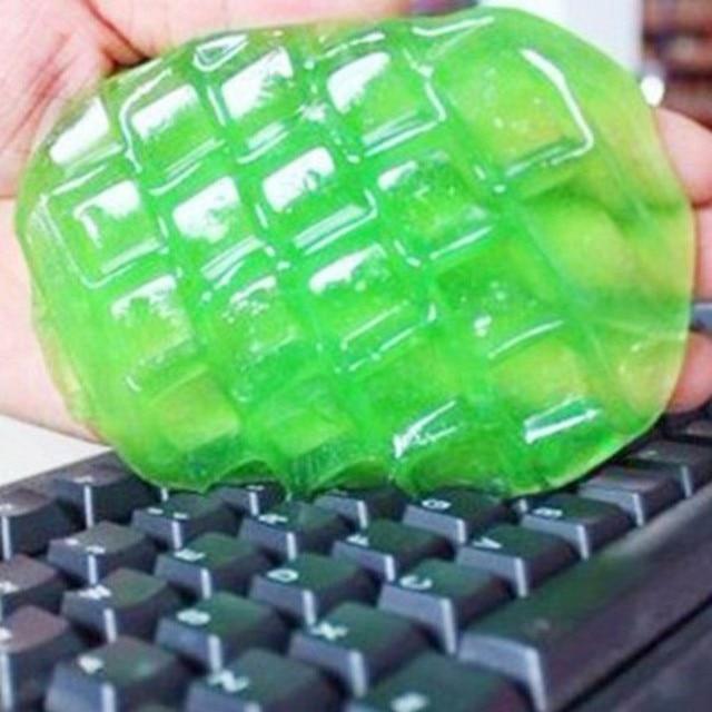 LEORY Multifuntion סופר אבק מקלדת מנקה רך דבק ניקוי כלי החלקלק ג 'ל אוניברסלי עבור מחשב מחשב מקלדת לשקע רכב