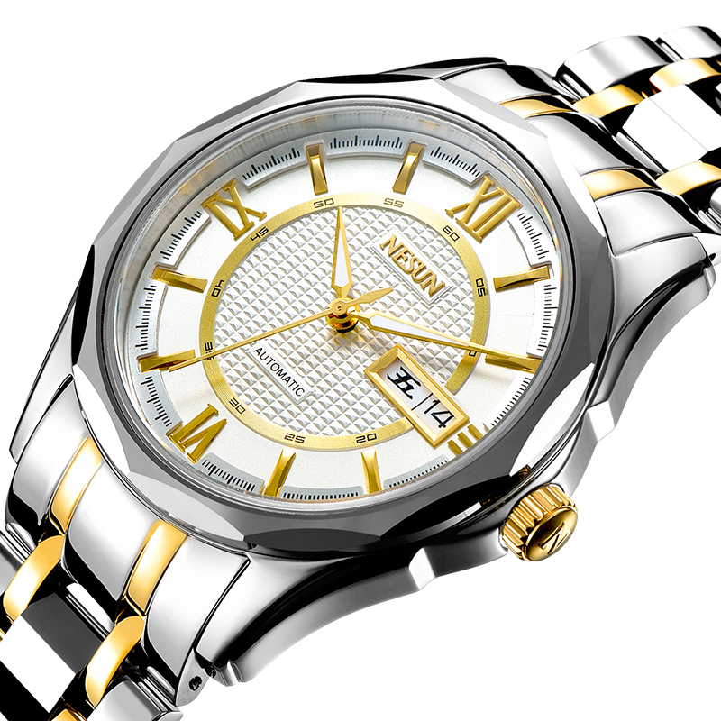 Nesun Japan Seiko NH36A Automatic Movement Switzerland Watch Men Luxury Brand Men's Watches Sapphire relogio masculino N9212-2 [ pre sale november 11 delivery ] seiko watch seiko 5 automatic sports st aviator 24 jewels men s watch made in japan srp349j1