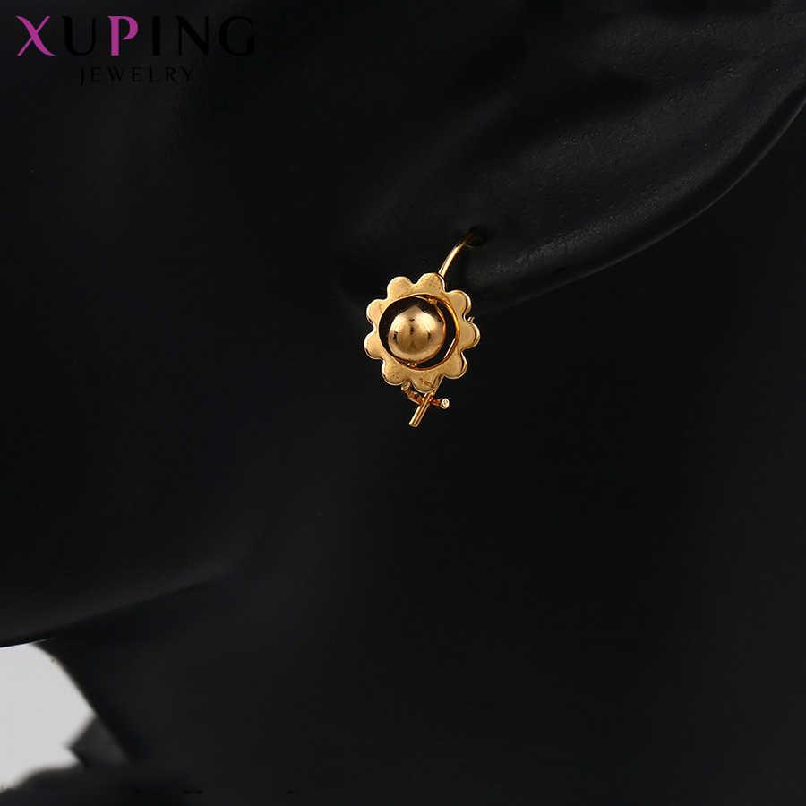 Xuping เรียบง่ายออกแบบมาเป็นพิเศษคุณภาพสูง Drop ต่างหูเครื่องประดับเด็กน่ารักน่ารักวันเกิดของขวัญ S138.2-91566