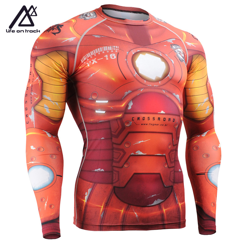 Man Cycling Base Jersey Bright Color Long Sleeve Male Printing Cycle - Sportswear and Accessories