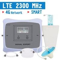 Repeatnet 4G LTE усилитель сигнала TDD 4G LTE 2300 2400 мГц Репитер сигнала мобильного телефона 70dB усиления ЖК дисплей Дисплей усилитель/4G AGC ALC
