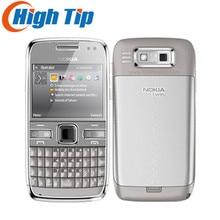 Nokia Setzte ursprünglichen handy E72 mit 5.0MP kamera GPS WIFI qwerty tastatur Refurbished Kostenloser versand 1 jahr garantie