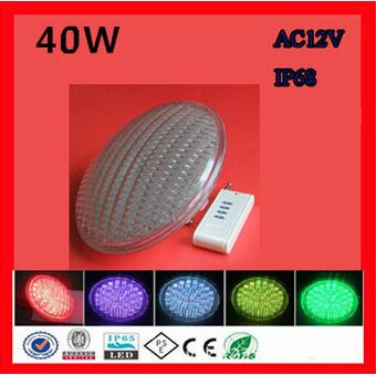 Calo dei Prezzi! LED PAR56 piscina luce 40 W 12 V RGB IP68 558led LED Piscina Luce fontana OutdoorLighting lampada