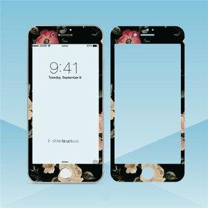 Image 3 - Hoa Đáng Yêu Kính Cường Lực Cho iPhone XS Max XR 6S 8 7Plus Tấm Bảo Vệ Màn Hình Viền Mềm Màng Bảo Vệ cho Iphone 11 Pro Max