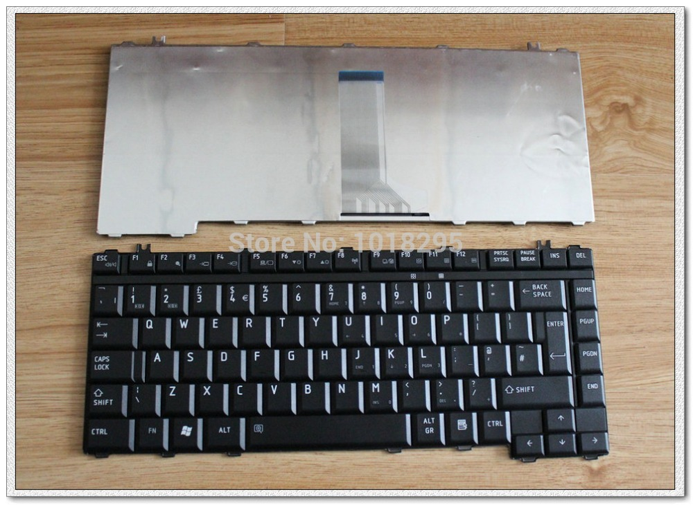 New laptop Keyboard for Toshiba Satellite A300 A300D A305 A305D L300 L305 L305D M300 UK v000125830 motherboard for toshiba satellite a300 a305 6050a2169901
