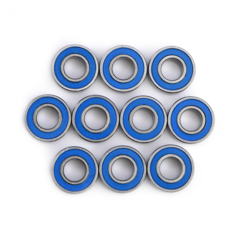 Best Price 10pcs MR115-2RS Bearing Steel Double-shielded Miniature Ball Bearings 5x11x4mm