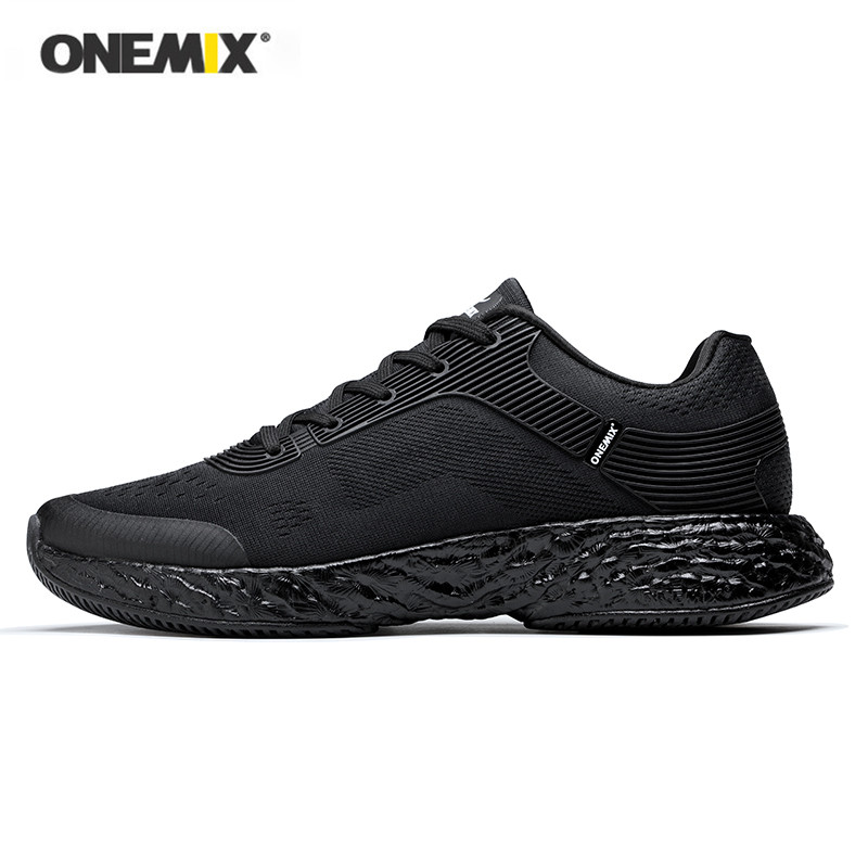ONEMIX 2018 NEW summer men running shoes energy marathon women sneakers rebound elastic flexible midsole Anti