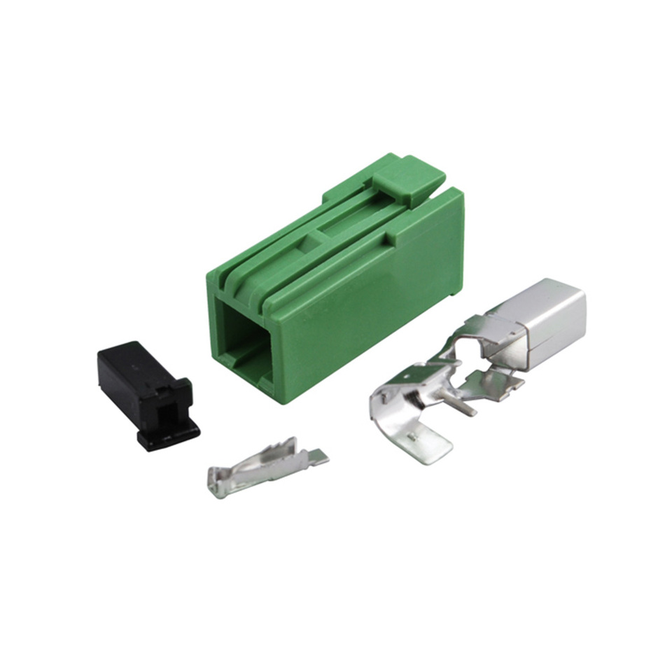 Pioneer Avic car radio stereo gps antenna aerial green socket type connector
