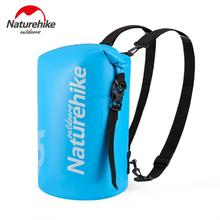 Naturehike Waterproof Backpack 10L 15L 25L PVC Dry Bags Outdoor Beach Drifting River Trekking Swimming Bag NH18F007-D